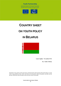 Country Sheet Belarus 2016