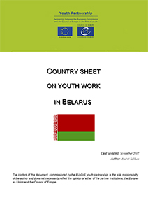 Template country info youth work BELARUS 2017 1